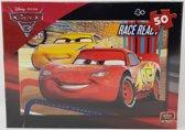 DISNEY - PIXAR - CARS - puzzel - kinder puzzel - Lightning McQueen - 4 jaar en ouder - 50 stukjes