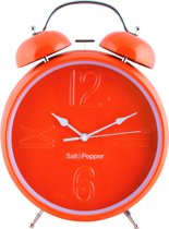 Salt&Pepper Zone Klok - 25 cm - Wekkerfunctie - oranje