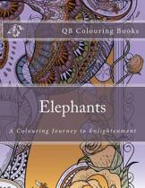Elephants - A Colouring Book Journey to Enlightenment (Qb Books)