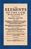The Elements of the Common Laws of England (1630)
