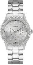 GUESS Watches -  W1097L1 -  Horloge -  Vrouwen -  RVS - Zilverkleurig -  40  mm