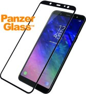 Premium Screenprotector voor Samsung Galaxy A6 Plus (2018) - Zwart