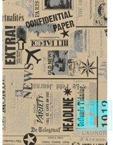 Cadeaupapier Krant Newspaper 101352-2 - Toonbankrol breedte 50 cm - m lang - Toonbankrol breedte 50  cm - 16.101352-2-50cm