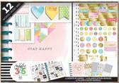 Me and My Big Idea's - Happy Planner Classic - Stay Happy - box kit - 12 maanden