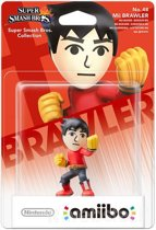 Nintendo amiibo Super Smash Mii Brawler - Wii U - NEW 3DS - Switch