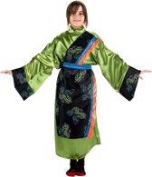 Groen Chinees meisjes kostuum - Verkleedkleding