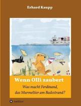 Was macht denn Ferdinand, das Murmeltier am Badestrand?