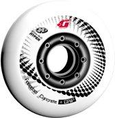 Limited edition Hyper inline skate wielen - Concrete +G 76/84 - Rood - 4stuks