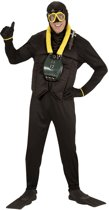 Duiker Kostuum | Diepzee Duiker | Man | Medium | Carnaval kostuum | Verkleedkleding