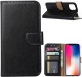 Book Case iPhone 11 Hoesje Zwart met Pasjeshouder