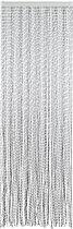 Arisol - Vliegengordijn - String - 100x220 cm - Zilver/Zwart