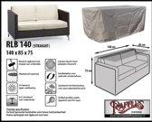 Raffles Covers RLB140 Loungebank beschermhoes 140 x 85 H: 75 cm taupe.
