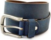 Cornerstone Herenriem Jeans 115 - Blauw - 115 cm