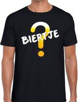 Oktoberfest - Biertje tekst t-shirt zwart heren 2XL