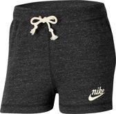 Nike Nsgyvntg Short Sportbroek Dames Black/Sail - Maat Xs