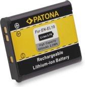 EN-EL19 Patona (A-Merk) batterij/accu voor Nikon