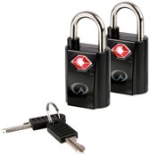 Lifeventure mini TSA padlock set | reis slotenset