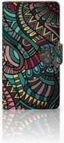 Huawei Ascend G700 Boekhoesje Design Aztec