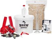 Brew Monkey Bierbrouwpakket - Compleet Weizen bier - Zelf bier brouwen - Bier brouwen startpakket - Kerstcadeau