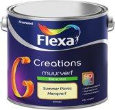 Flexa Creations Muurverf - Extra Mat - Summer Picnic - 2,5 liter (Mengkleur)