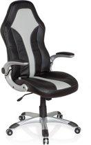 hjh office Racer 400 - Bureaustoel - Zwart / zilver