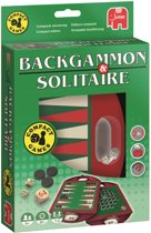 Backgammon & Solitaire - Reisspel