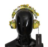DOLCE & GABBANA LEMON CRYSTAL WIRELESS LEATHER HEADPHONES 100% Authentic From € 4.270,- No