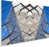 Prachtige afbeelding van de Titanic Belfast Plexiglas 80x60 cm - Foto print op Glas (Plexiglas wanddecoratie)