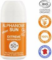 Alphanova Handige zonnebrand roll-on voor tijdens het sporten