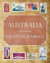 Australia Vacation Journal