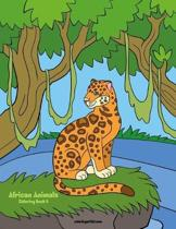 African Animals Coloring Book 6