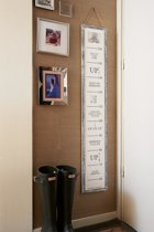 Rivièra Maison Kids Growth Chart - Wit