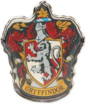Harry Potter Gryffindor Crest Pin Badge