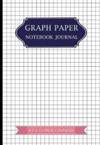 Graph Paper Notebook Journal