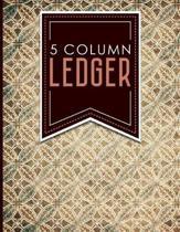 5 Column Ledger