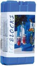 Koelelementen 2 stuks - 8 x 15 cm - 200 gram - Koelblokken/koelelementen voor koeltas/koelbox