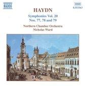 Haydn: Symphonies No.77,78&79