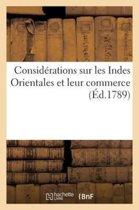 Consid�rations Sur Les Indes Orientales Et Leur Commerce