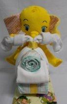 Brommer klein olifant geel