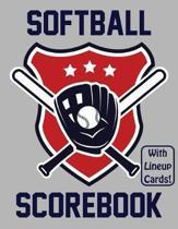 Softball Scorebook With Lineup Cards