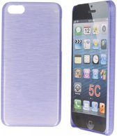 iPhone 5c Hoesje - Special Edition Hard Case Paars
