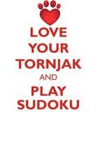 Love Your Tornjak and Play Sudoku Tornjak Sudoku Level 1 of 15