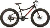 "Ks Cycling Fiets KS Cycling 26"" Fatbike SNW2458 aluminium frame zwart - 46 cm"