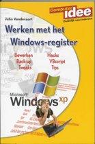 Werken Met Het Windows-Register