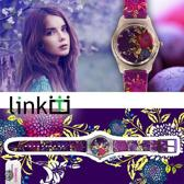 Linkgrahix horloge Blossom - diameter 34 mm