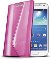Celly - Lady Wally booktype hoes - Samsung Galaxy S4 Mini - roze