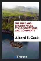 The Bible and English Prose Style