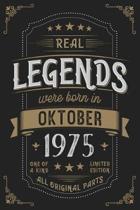 Real Legends were born in Oktober 1975