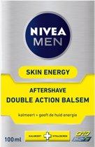 Nivea Men Energy Q10 - 100 ml - Aftershavebalsem
