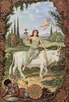 Johfra - Stier - 40x60 cm Canvas Giclée